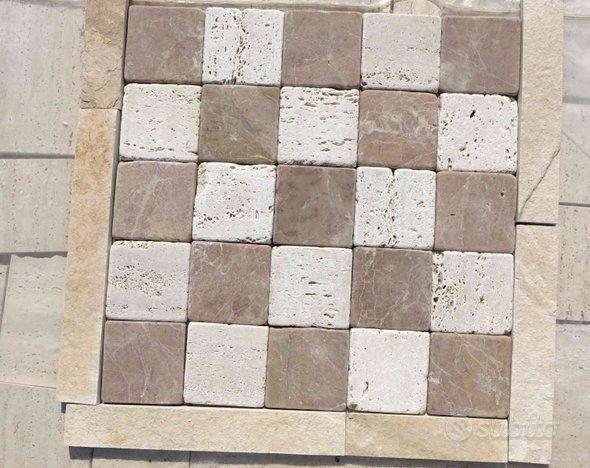 Mosaico di Piastrelle in Pietra da Rivestimento A