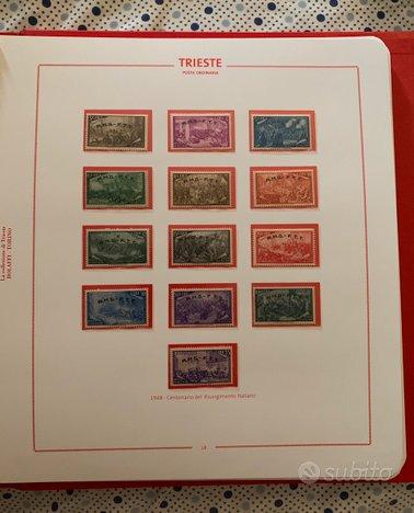 Collezione francobolli Trieste zona A