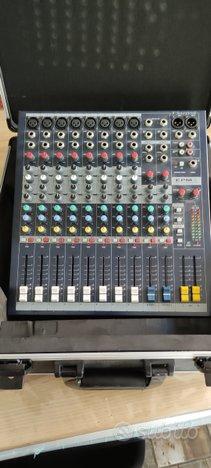 Cassa JBL 612+mixer soundcraft epm8 senza effetti