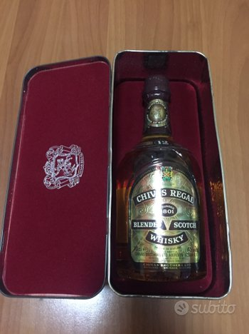 Chivas Regal anni 80