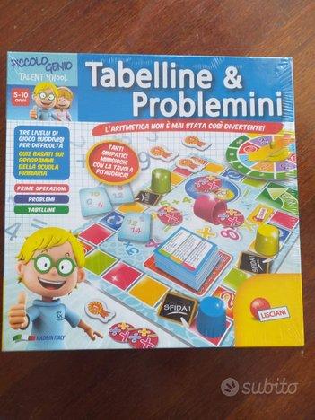 Tabelline e Problemini - Gioco quiz - Lisciani