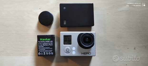 GoPro Hero 3 Silver + battery bacpac