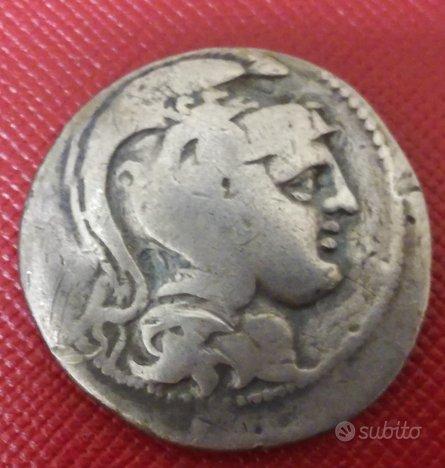 Moneta IN ARGENTO - Tetradramma metà del II°