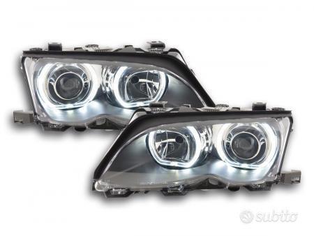 faro Angel Eyes LED BMW serie 3 E46 anno di cost
