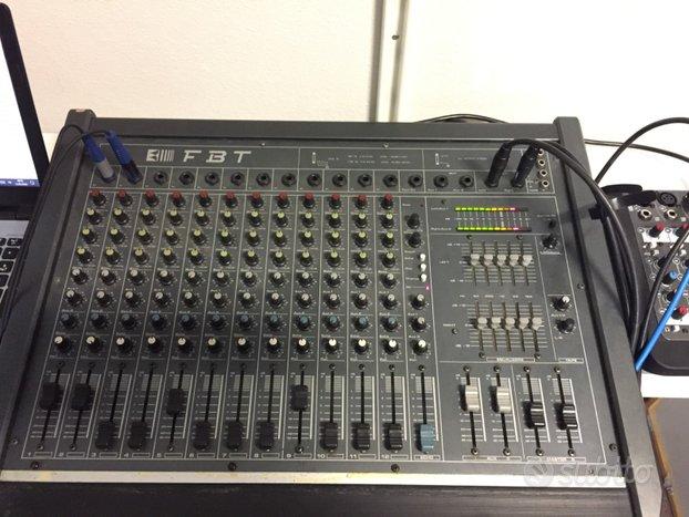 Mixer Band/Cantante 12 canali FBT + borsa