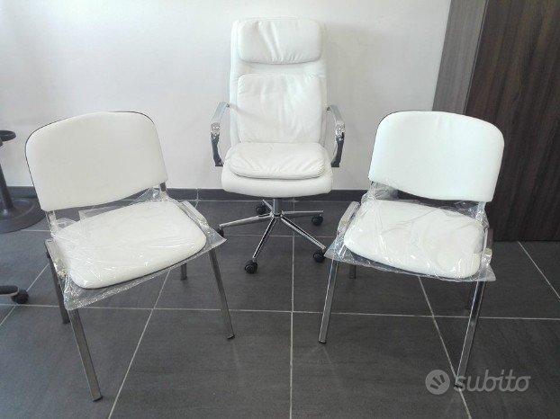 Tris poltrone sedie ufficio ADE - Arredamento e Casalinghi ...