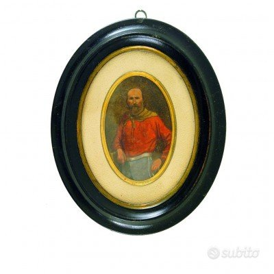 Pregevole miniatura di Giuseppe Garibaldi