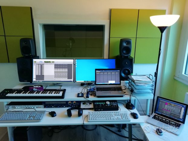 Studio di registrazione e mixing audio e musicale