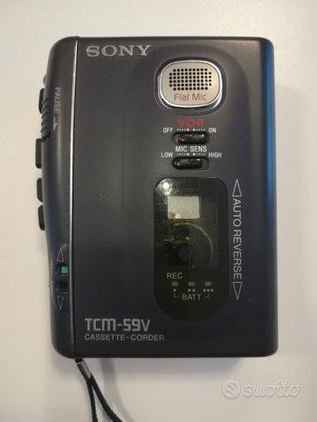 Walkman Sony TCM-59V VTG Registratore vocale