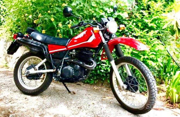 Yamaha xt 550 - fmi