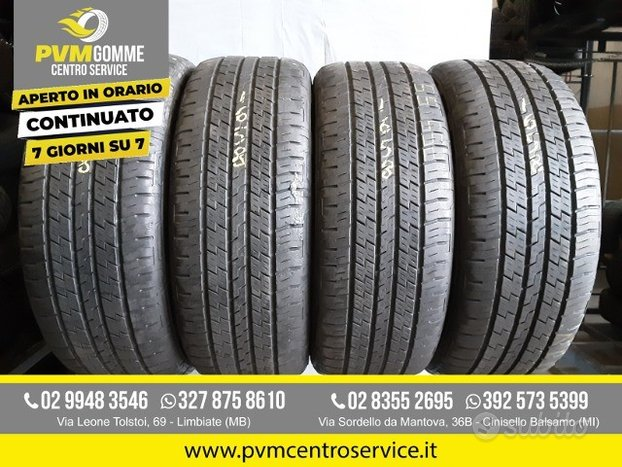 Gomme usate 225 55 19 111v continental