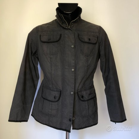 Giacca Barbour nera Impermabile Unisex