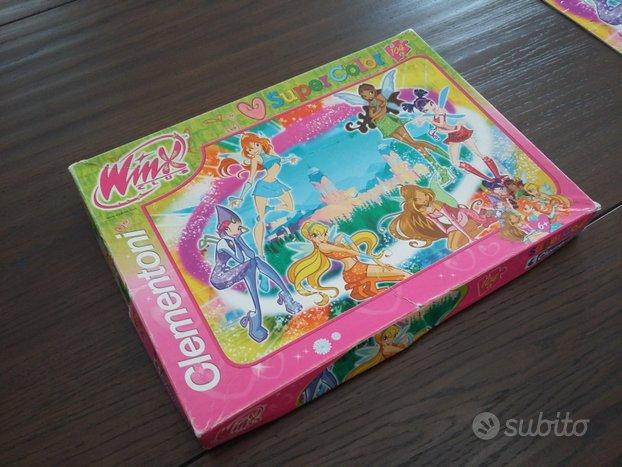 Puzzle winx 104 pezzi Super Color Clementoni
