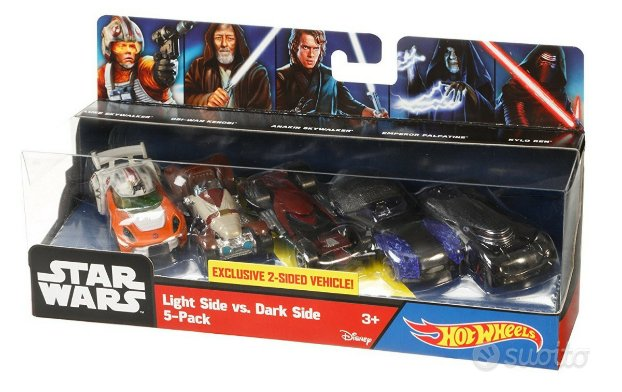 Hot Wheels 1/64 - Star Wars 5 auto