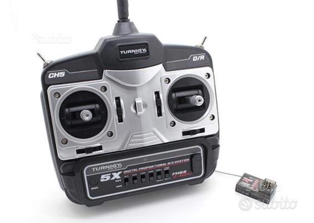 Radiocomando 5 ch 2.4 ghz Mode 1 o Mode 2