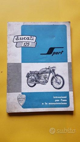 Ducati 125 Sport 1957 manuale uso originale