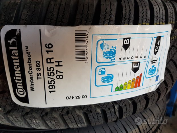 Gomme Nuove 195 55 16 87 H Continental