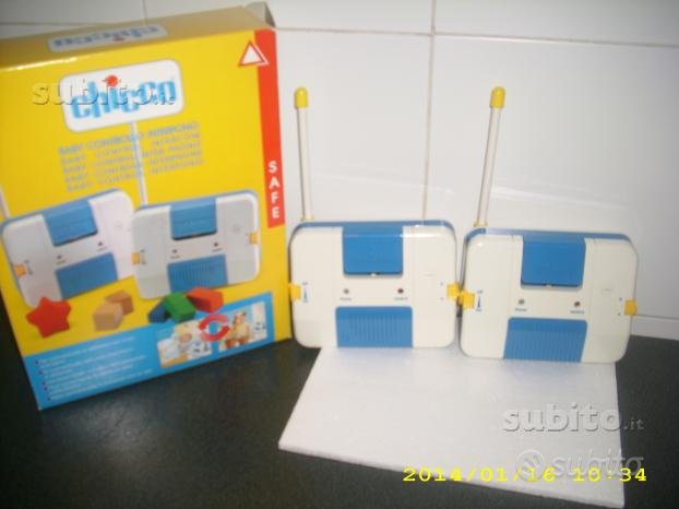 Interfono chicco baby control