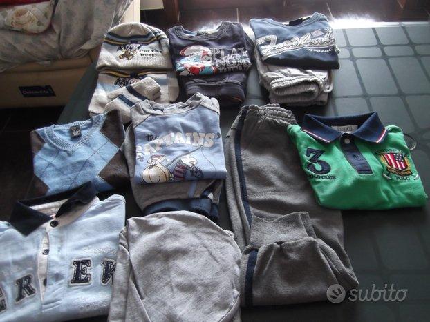Lotto vestiti usati bambino bimbo 30 mesi maschio