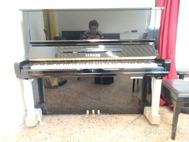 Pianoforte Yamaha U3 H silent genio trasporto incl