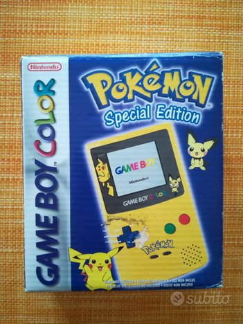 Game Boy Color Nintendo Pokémon + 8 giochi