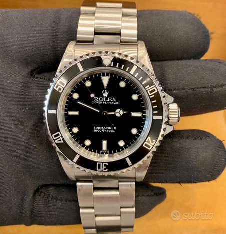 Rolex Submariner (No Date) Swiss Only Top Conditio