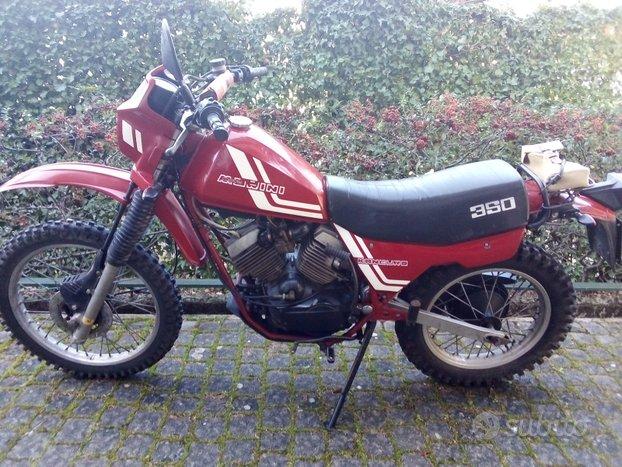 Moto Morini 350 kanguro scrambler epoca