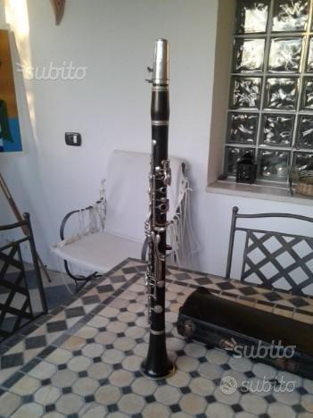 Clarinetto italiano in ebano