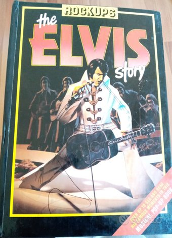 The Elvis Story - Pop-Up book 1985