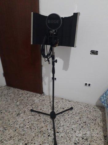 Microfono rode NT2-A kit completo con scarlett