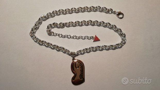 Collana originale Guess con cuore
