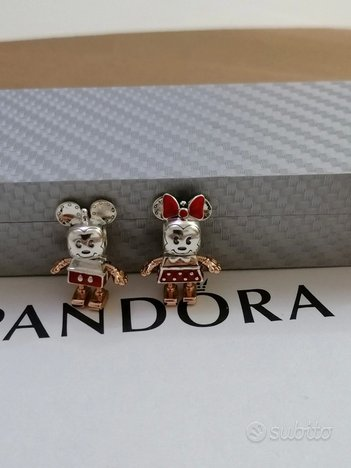 Pandora Disney Charms Mickey Minnie Mouse robot