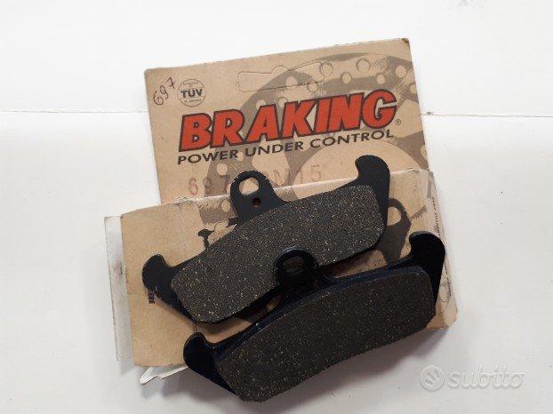 Pastiglie cod. 697 braking per honda/cagiva/hsq