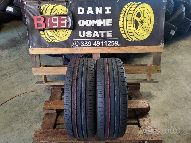 2 Gomme Usate 215 55 17 CONTINENTAl al 70%