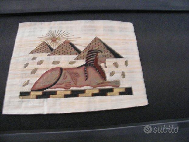 Originali papiri egiziani certificato autenticità