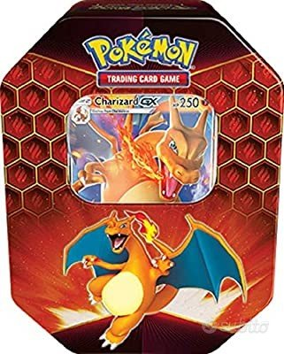 Carte Pokemon tin Charizard gx no shining hidden f