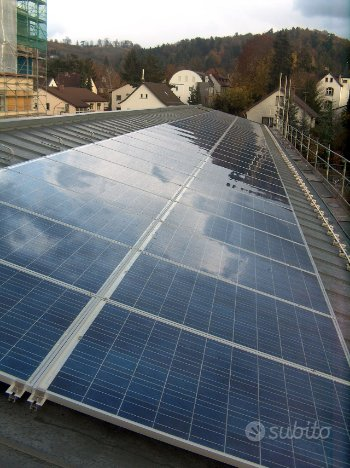 Impianto fotovoltaico energie rinnovabili