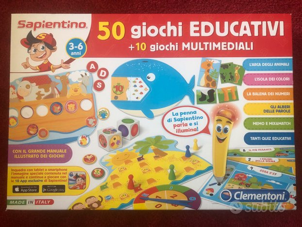 Sapientino 50 giochi educativi 10 multimediali