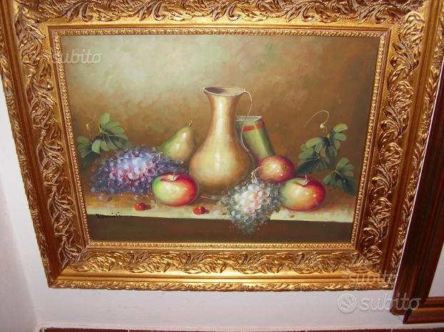 Quadro dipinto a mano olio su tela