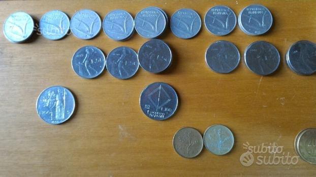 Lire italiane (10, 20, 50, 100, 200, 500)