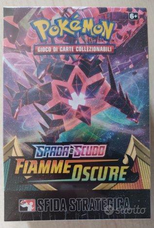 Box prerelease pokemon FIAMME OSCURE kit sealed