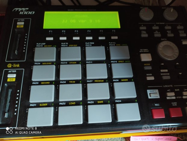 MPC 1000 (Fully Expanded + HD) + EMU ESI 32