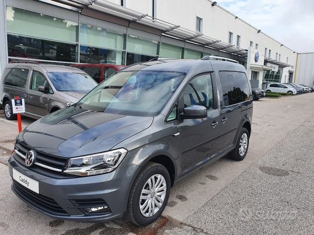 VOLKSWAGEN Caddy PLUS METANO 5 POSTI 1.4 TGI 110