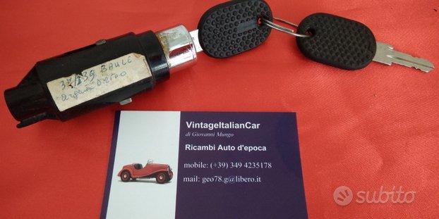 FIAT ARGENTA blocchetto SERRATURA BAULE BOOT LOCK