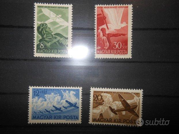 Ungheria serie nuova completa anno 1942 - 1,00