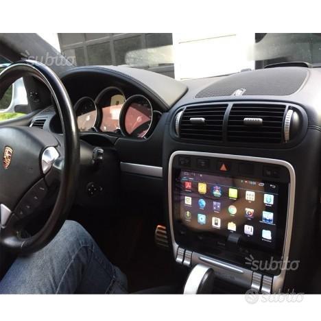 Autoradio navigatore porsche cayenne touch wifi