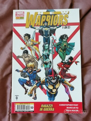 Marvel New warriors ragazzi in guerra