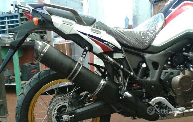 Special Titanium Black Honda CRF 1000 L Sports