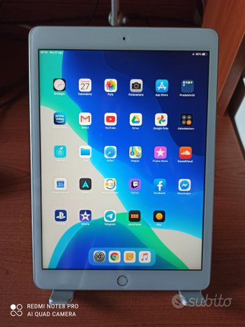 IPad 7° gen. 32gb WiFi silver   accessori