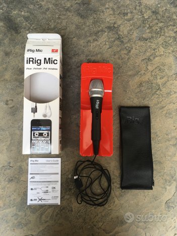 IRig mic IK Multimedia - microfono iPhone